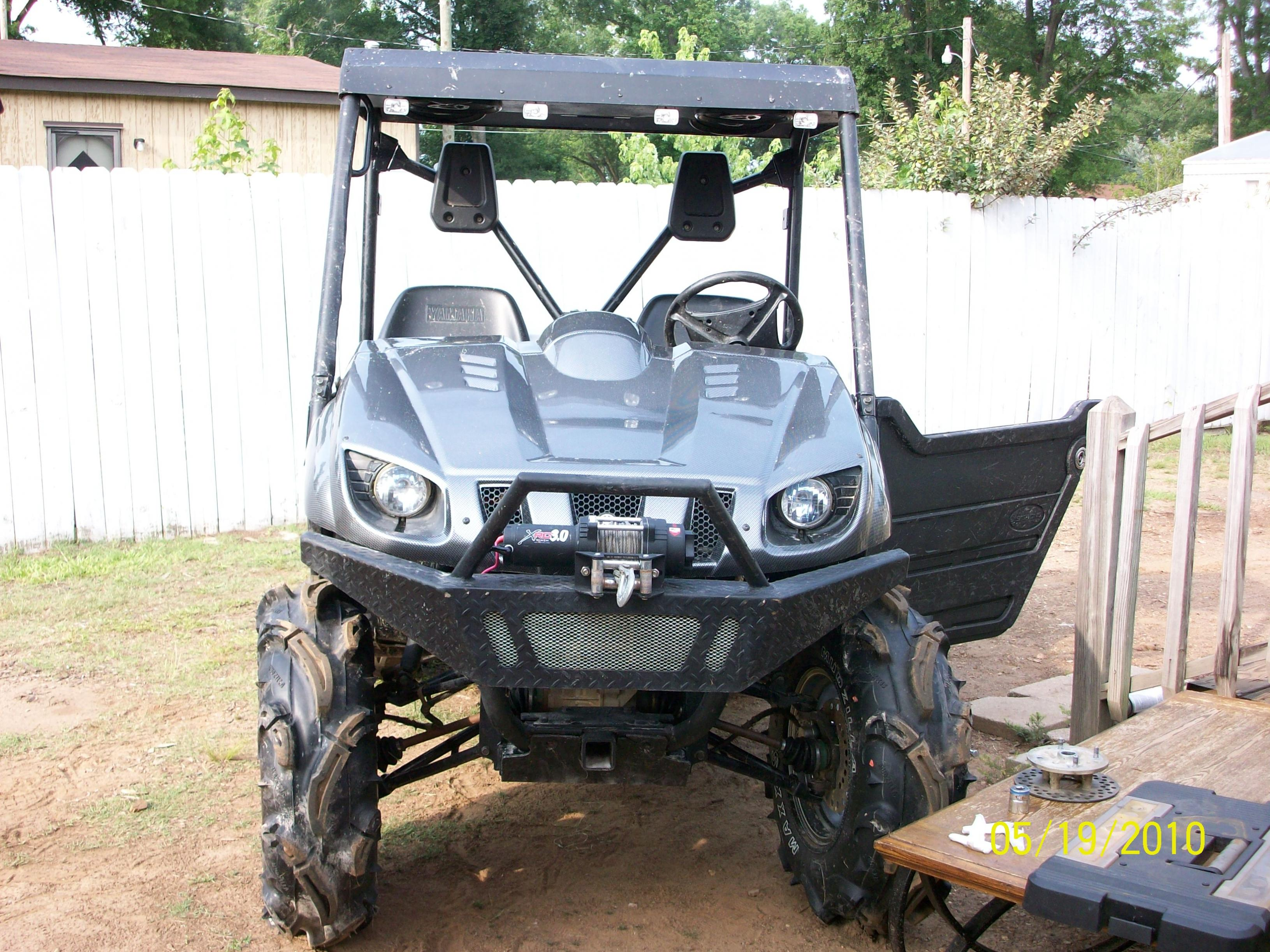 Yamaha Grizzly Lift