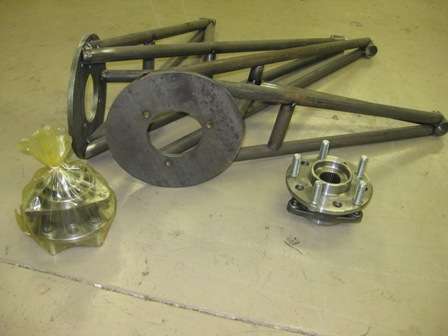 hubs,rear carrier, trailing arms, spindles - Yamaha Rhino