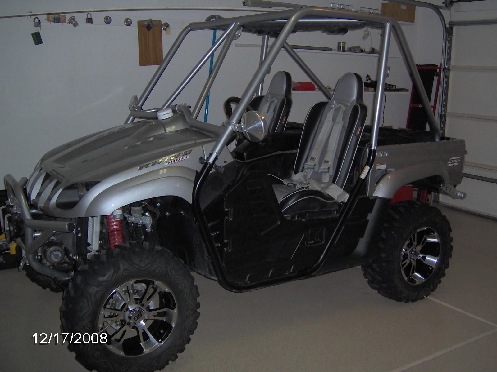 2008 Yamaha Rhino Special Edition 700 Fi Custom Many