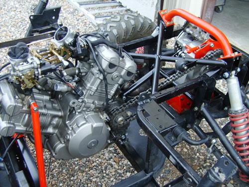 Yamaha Rhino  Engine Swap