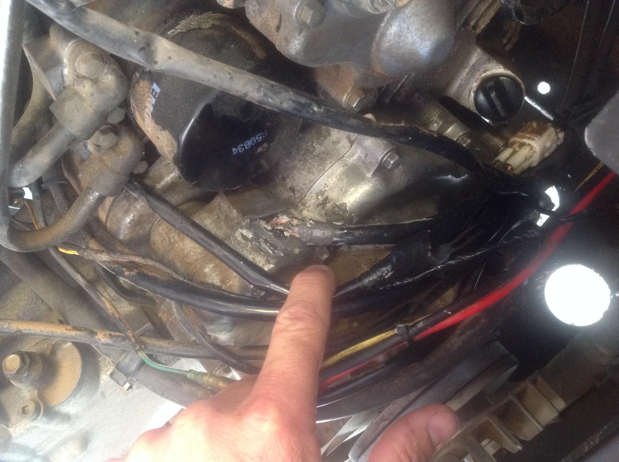 Oil leaking from alternator yamaha rhino forum rhino for Yamaha rhino alternator