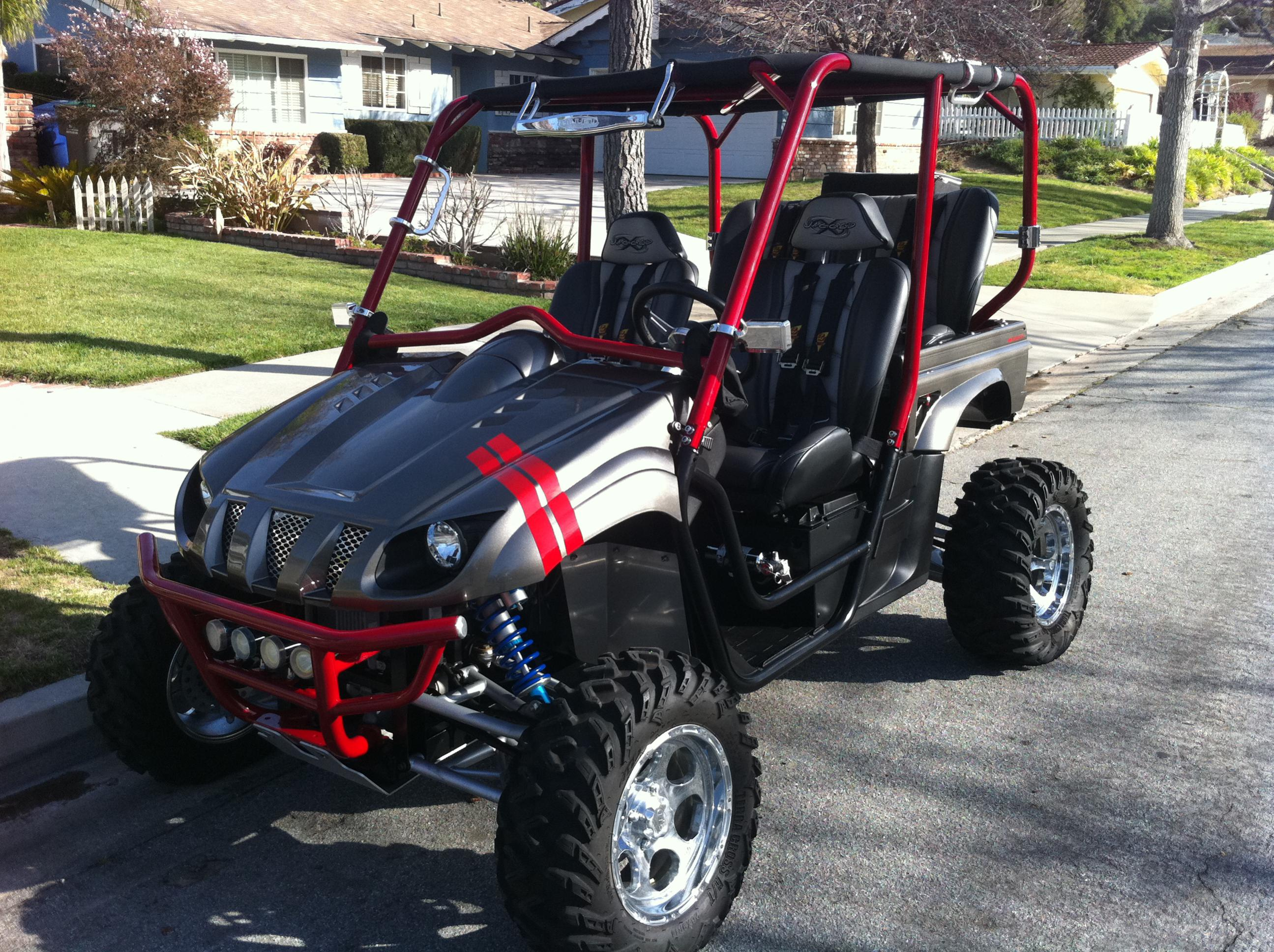 2006 Rhino Jaggedx Custom 4 Seater Long Travel Yamaha