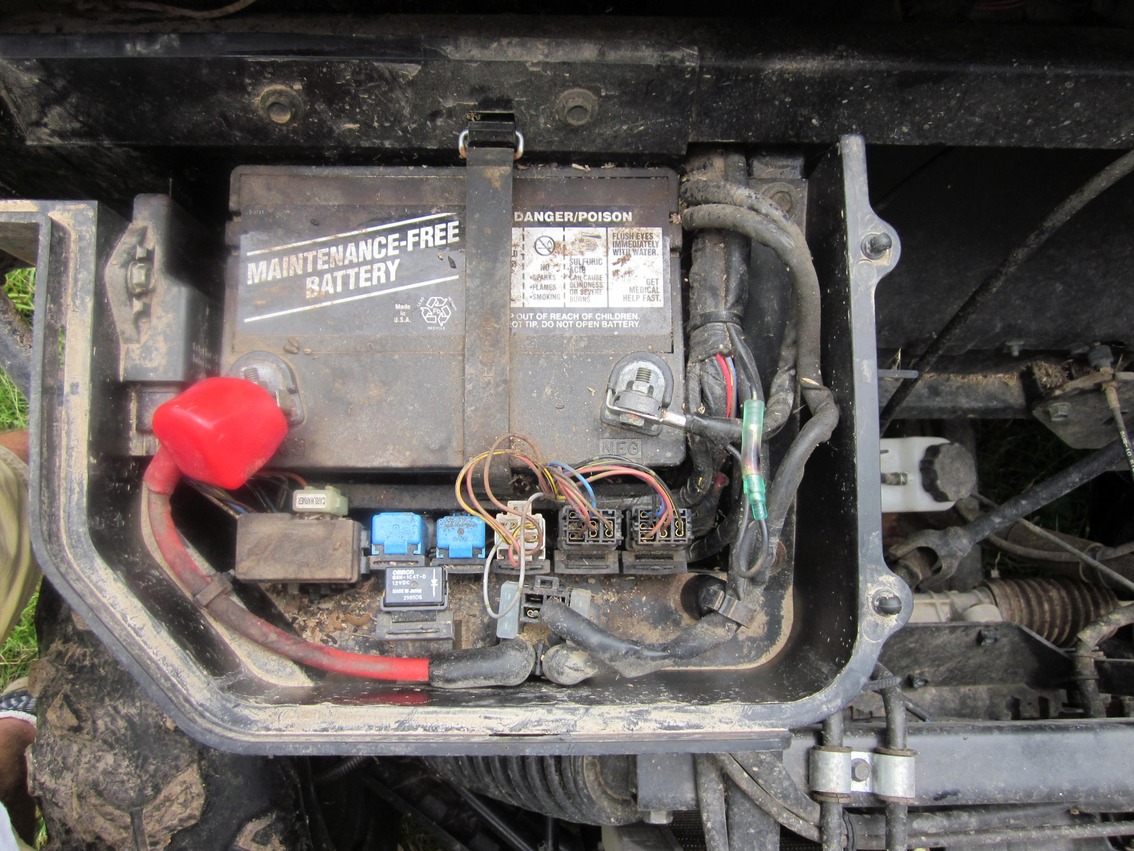 What is this burnt connector at battery??? | Yamaha Rhino Forum | Battery Wiring Diagram For Yamaha 660 Rhino |  | Yamaha Rhino Forum