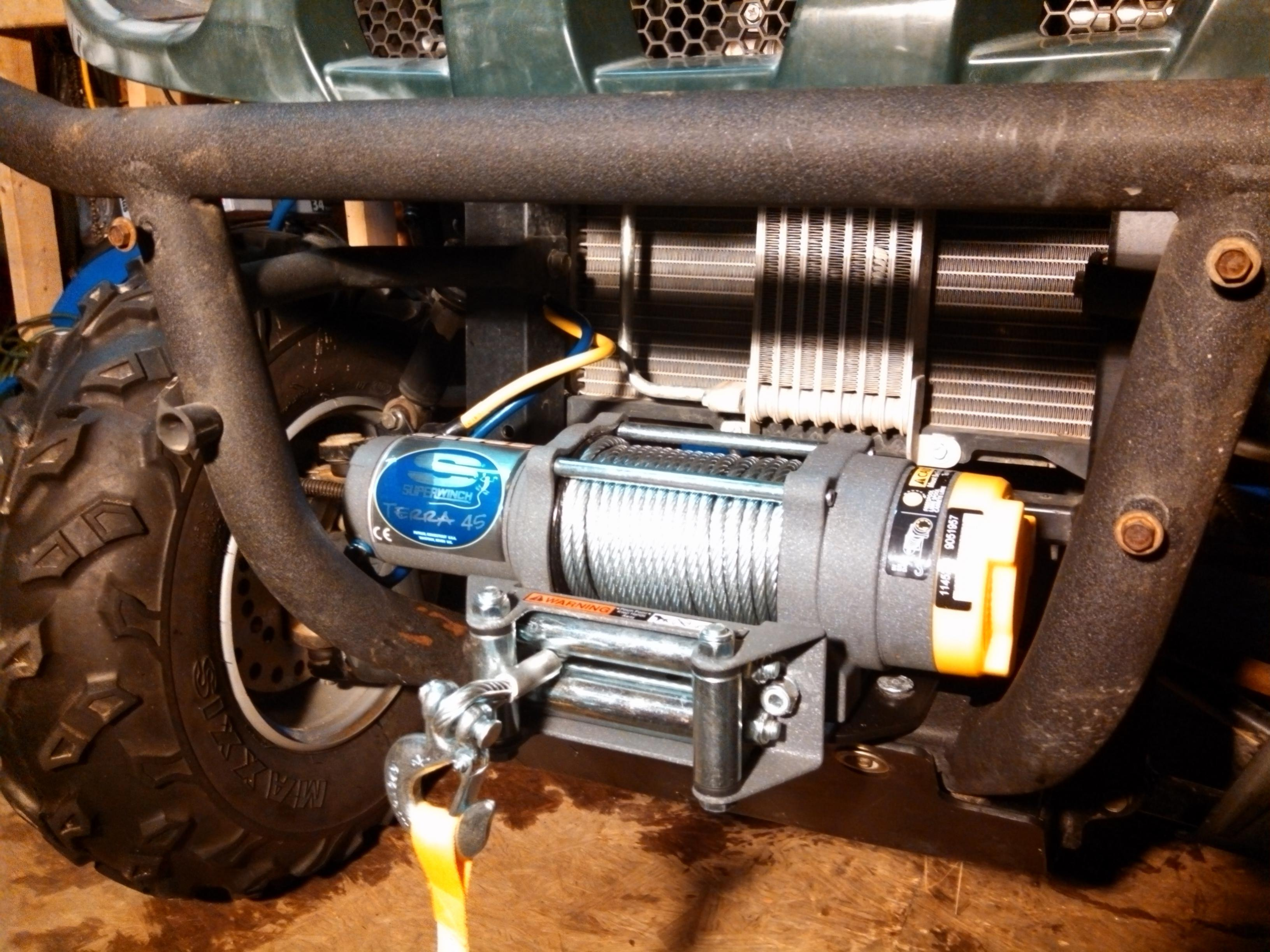 Superwinch Terra 45 Wiring Diagram 34 Images Electrical Yamaha Rhino 32539d1362269876 Installed Img 20130302 174318 949 The Forum