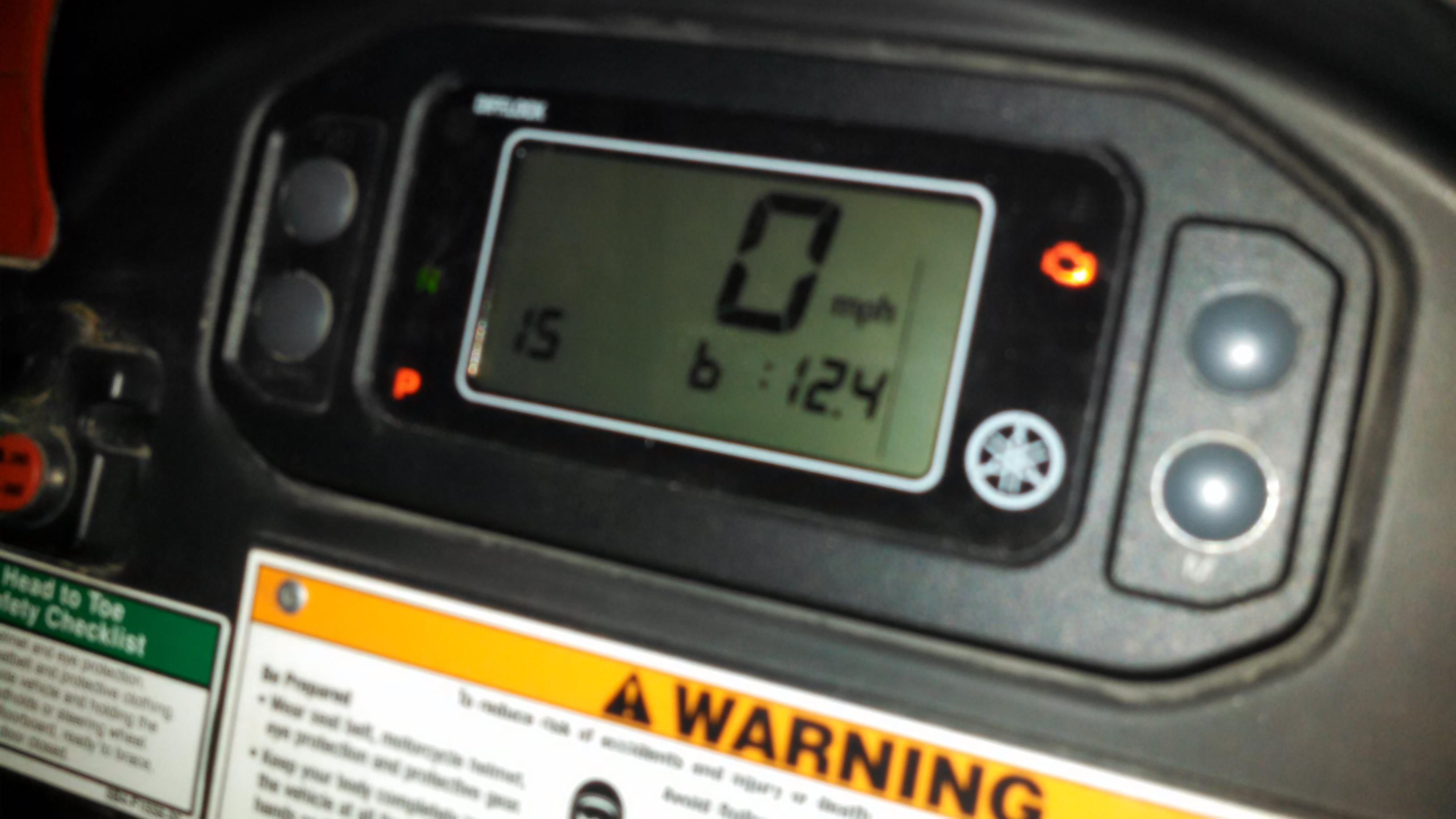 Yamaha Rhino Diagnostic Codes