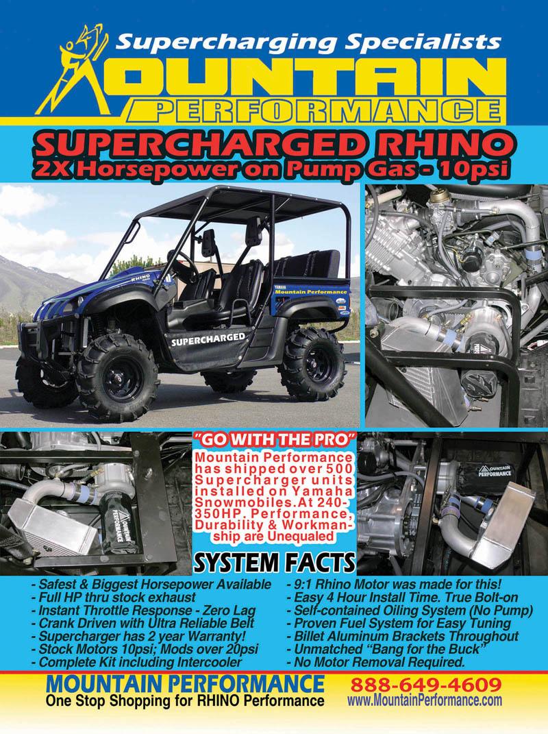 MPI Supercharger for Sale - Yamaha Rhino Forum - Rhino Forums net