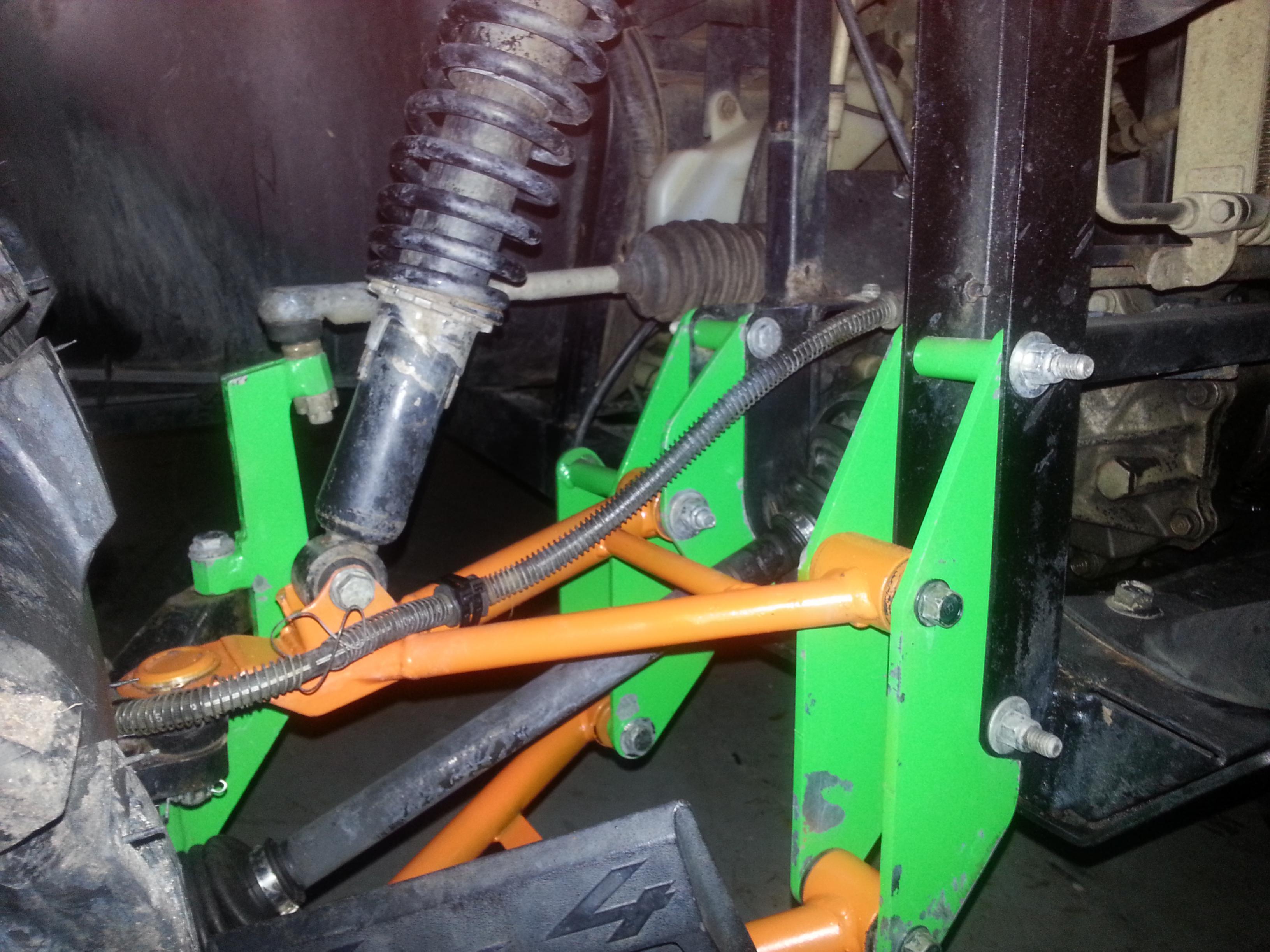 "15 Inch Tires >> 6"" Gorilla bracket lift - Yamaha Rhino Forum - Rhino ..."
