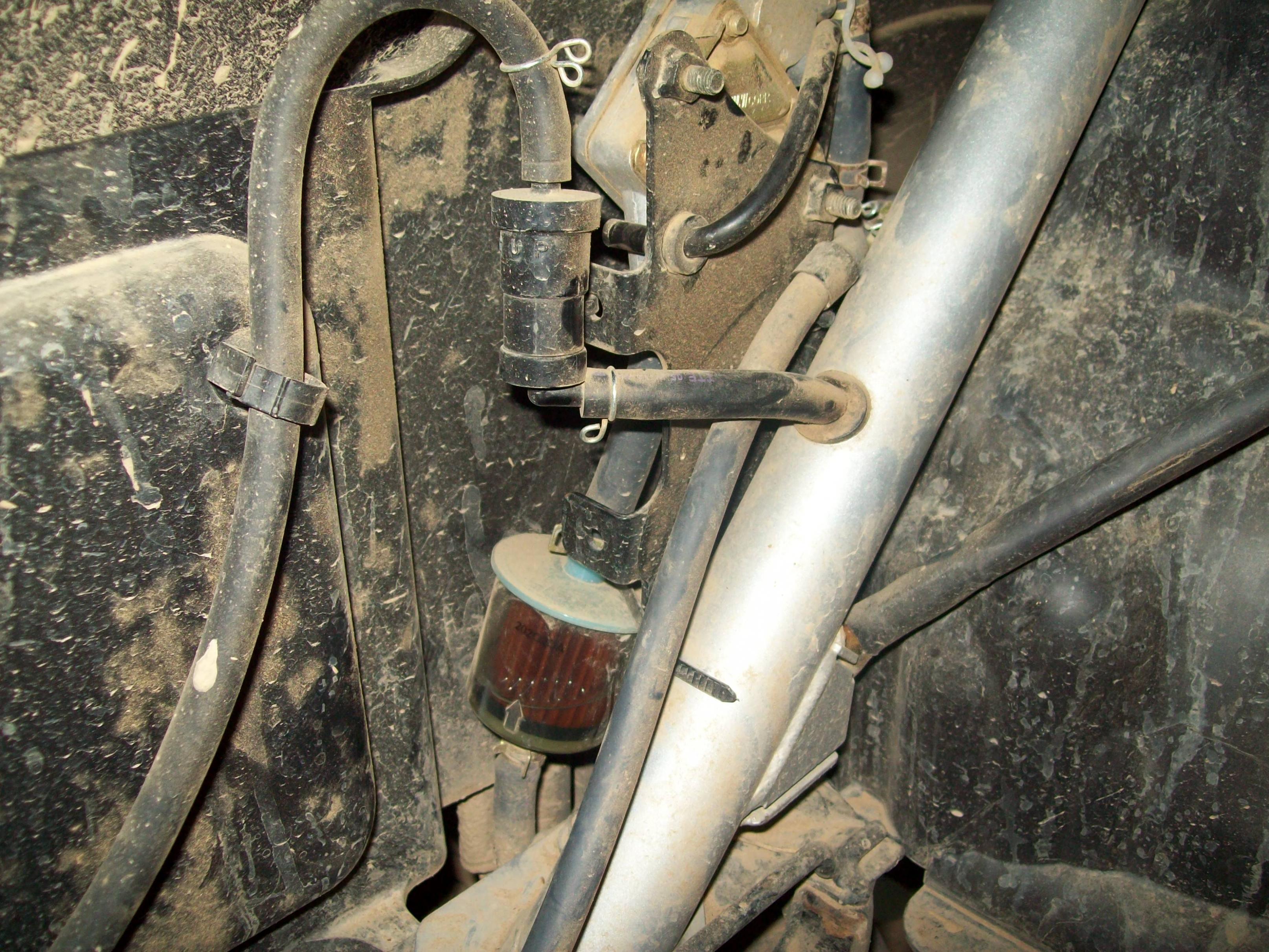 [SCHEMATICS_4CA]  fuel filter, fuel pump questions | Yamaha Rhino Forum | Rhino 450 Fuel Filter |  | Yamaha Rhino Forum
