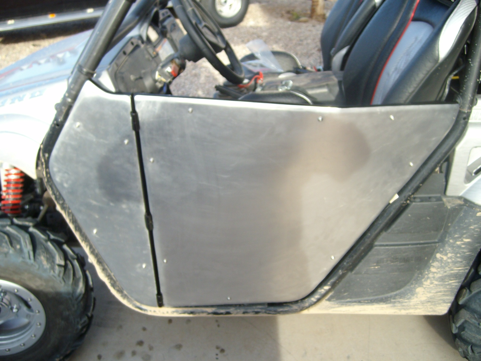 Click image for larger version Name rhino 015.jpg Views 6918 Size ... & How I made my own doors for around $120.00 - Yamaha Rhino Forum ...