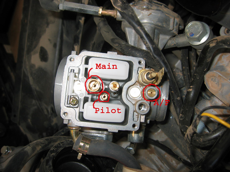 Yamaha Rhino  Carburetor Float Adjustment