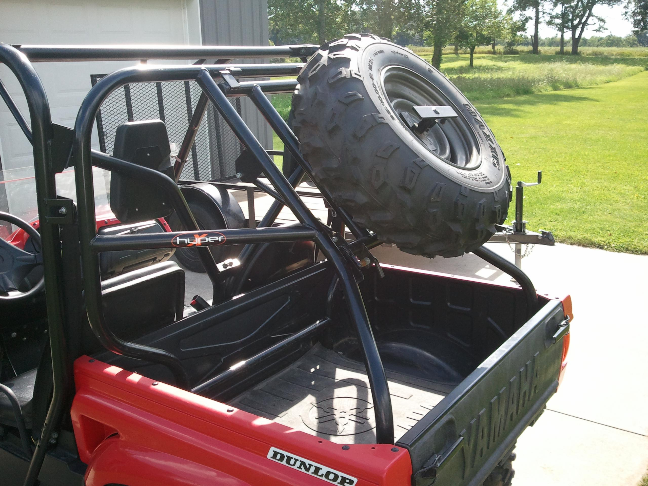 Prerunner For Sale >> PreRunner Spare Tire Carrier For Sale MI - Yamaha Rhino Forum - Rhino Forums.net